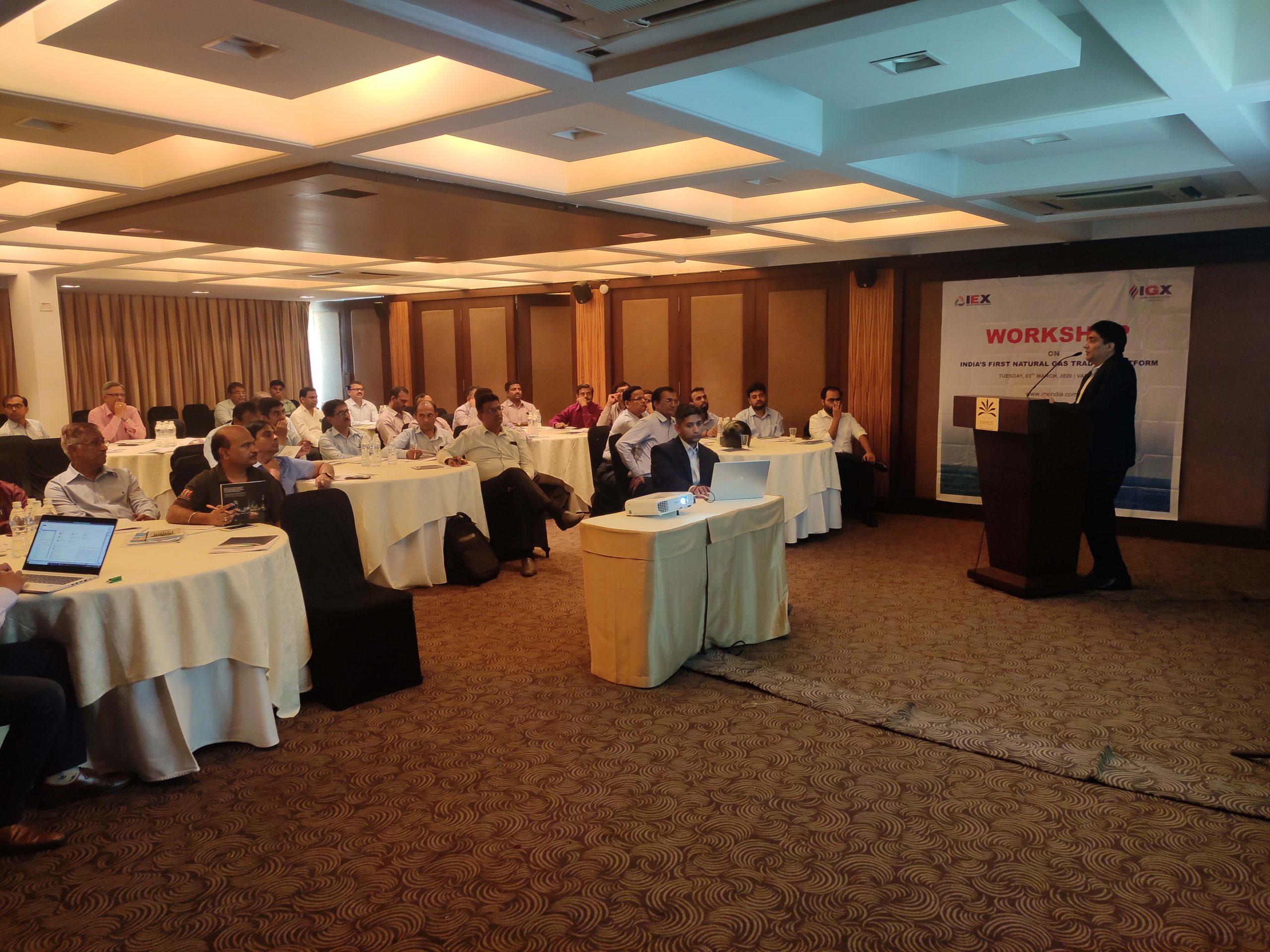 Workshop on India's first Natural Gas Trading Platform-Ahmedabad-image0