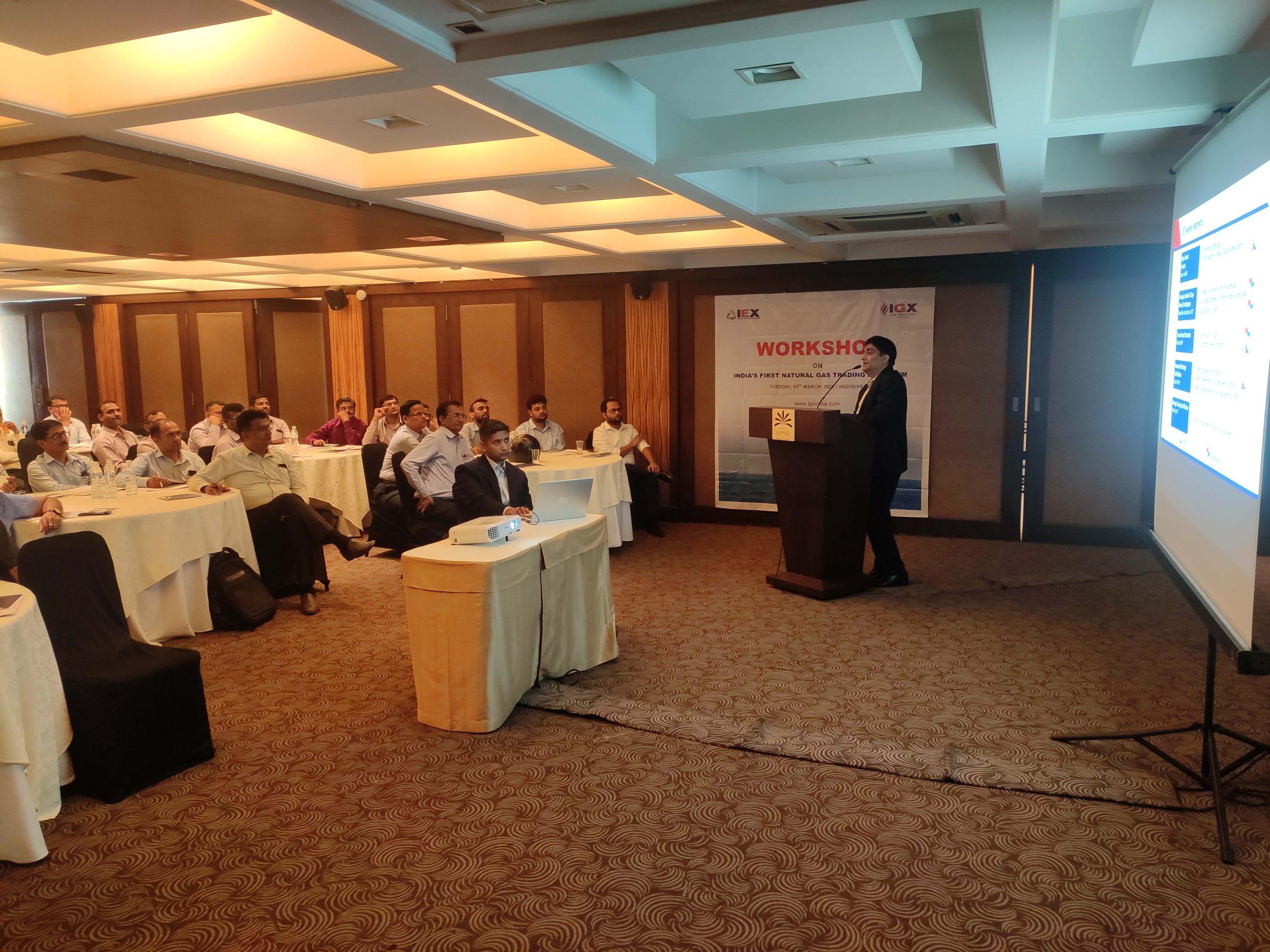 Workshop on India's first Natural Gas Trading Platform-Ahmedabad-image1