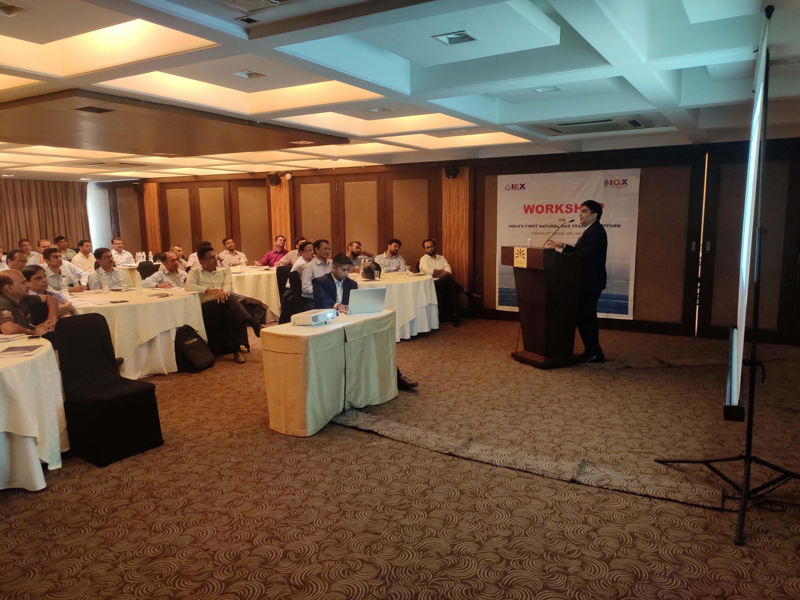 Workshop on India's first Natural Gas Trading Platform-Ahmedabad-image11