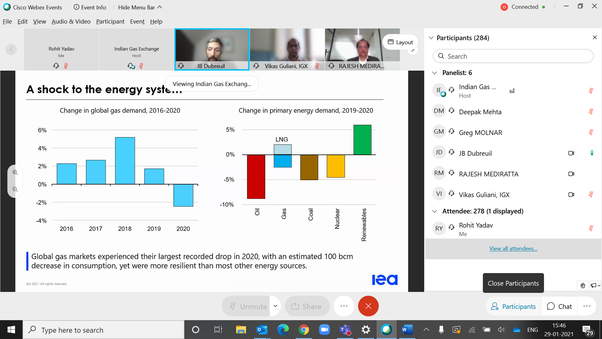 Webinar on Overview of Recent Global Gas Trends-image0